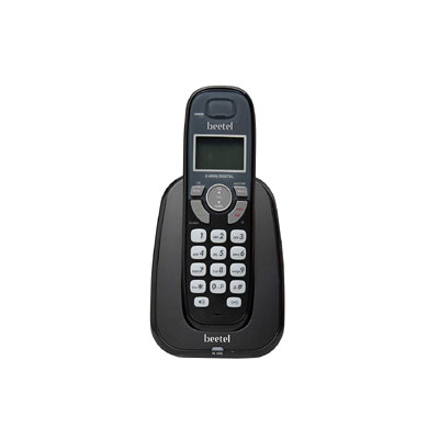 Beetel X70 Cordless Landline Phone (Black)