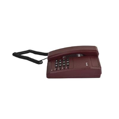 Beetel B11 Corded Landline Phone (Dark Red)