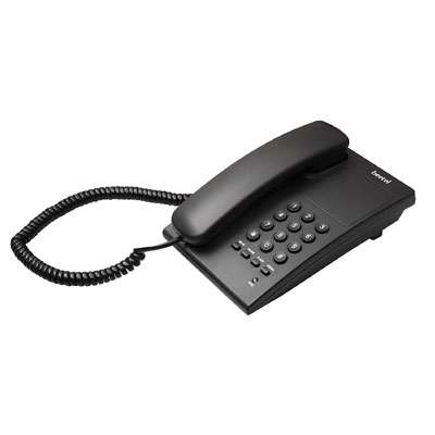 Beetel B17 Corded Landline Phone (Black)