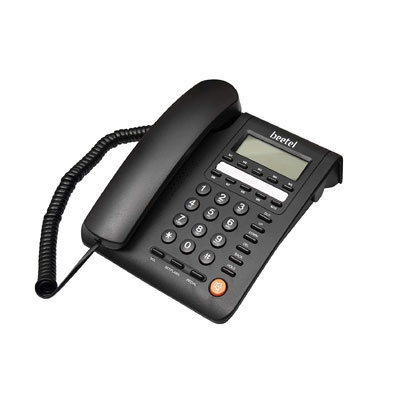 Beetel M59 Corded Landline Phone Black