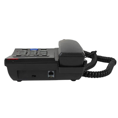Binatone CONCEPT 700 Corded Landline Phone with Answering Machine (Black)