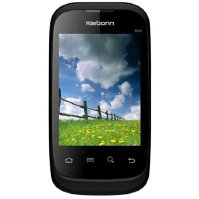 Karbonn K60 Mobile Phone Black