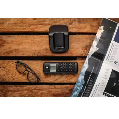 Motorola T201I Cordless Landline Phone (Black)