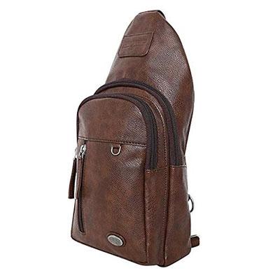 Swisstek Leather Sling Bag PU SB016