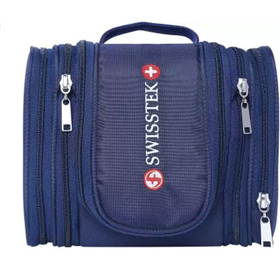 Swisstek Toiletry Pouch Wet Pouch Blue TK-010