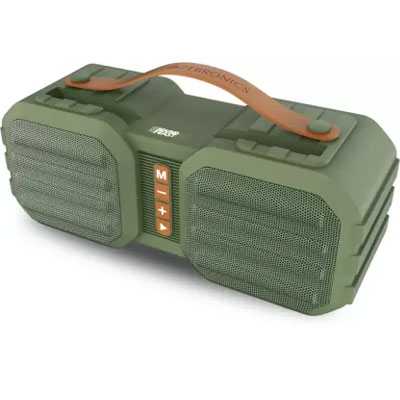 Zebronics Sound Feast 50 14 W Bluetooth Speaker Green