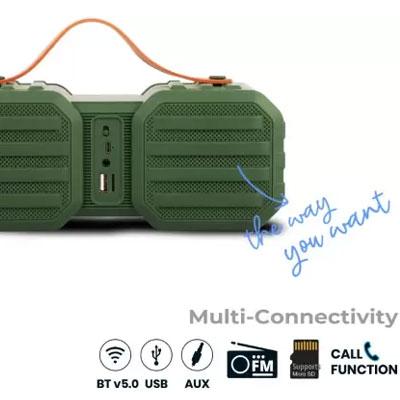 Zebronics Sound Feast 50 14 W Bluetooth Speaker Green