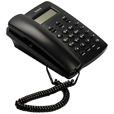 Beetel BT-M56 Corded Landline Phone (Black)
