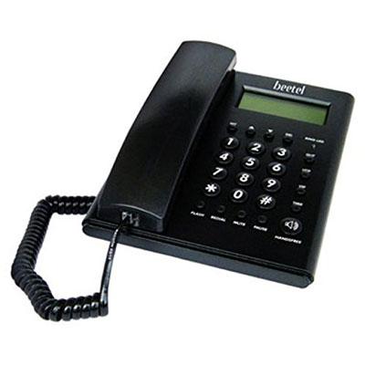 Beetel M52 Corded Landline Phone Black