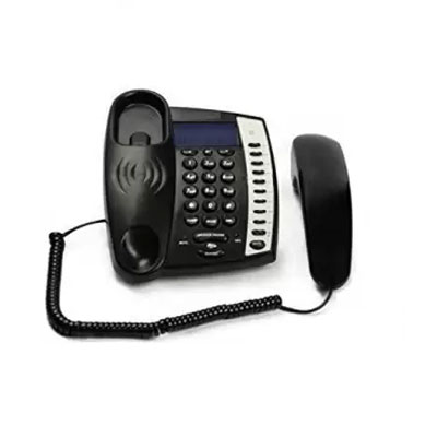 Beetel Magic M60 Corded Landline Phone (Black)