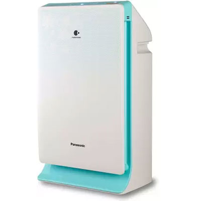 Panasonic F-PXM55AAD Portable Room Air Purifier (White, Blue)