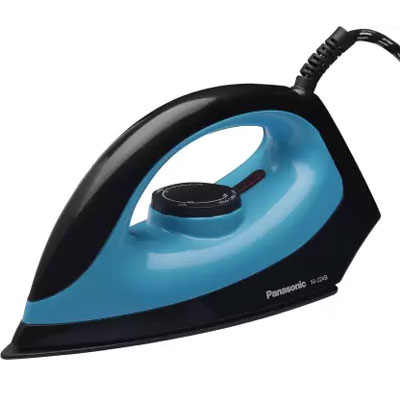 Panasonic NI-324B 1100 W Dry Iron (Blue and Black)