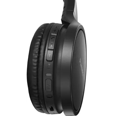 Panasonic RP-HF410BGCK Street Wireless Bluetooth Headphones (Black)