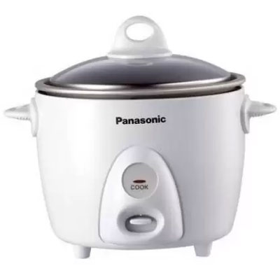 Panasonic SR-G06 Electric Rice Cooker (1.5 L, Silver)