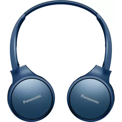 Panasonic RP-HF410BGCA Street Wireless Bluetooth Headphones (Blue)