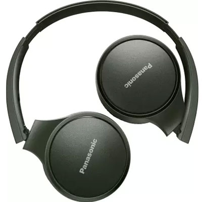 Panasonic RP-HF410BGCG Street Wireless Bluetooth Headphones (Green)