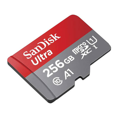 Sandisk Ultra 256 GB MicroSDXC Class 10 120 Mbps Memory Card