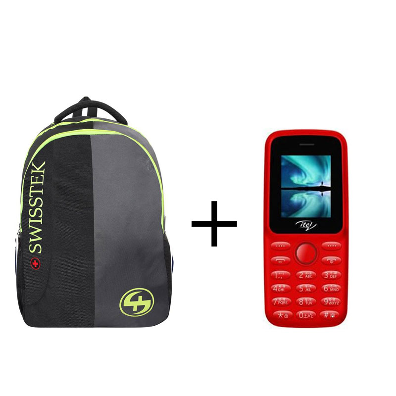 Swisstek BP-021 BackPack & Itel 2163