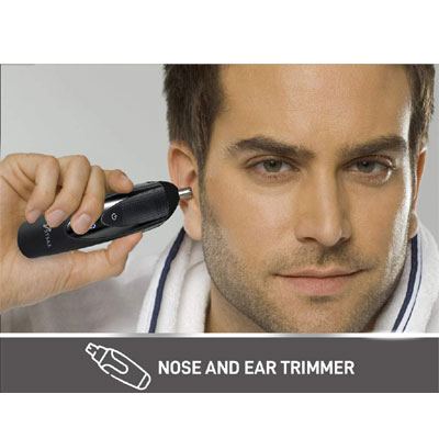 Syska HT4500K Runtime: 60 min Trimmer for Men (Black)