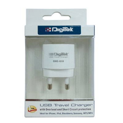 Digitek USB Travel Charger 1A DMC-010