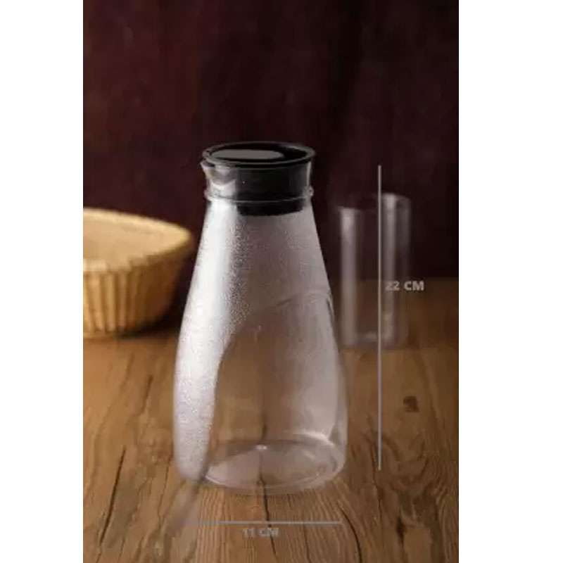 SOLOMON PREMIUM QUALITY JUICY JUG 1100ml (BLACK)