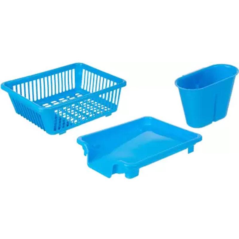 SOLOMON PREMIUM QUALITY DISH DRAINER (BLUE)