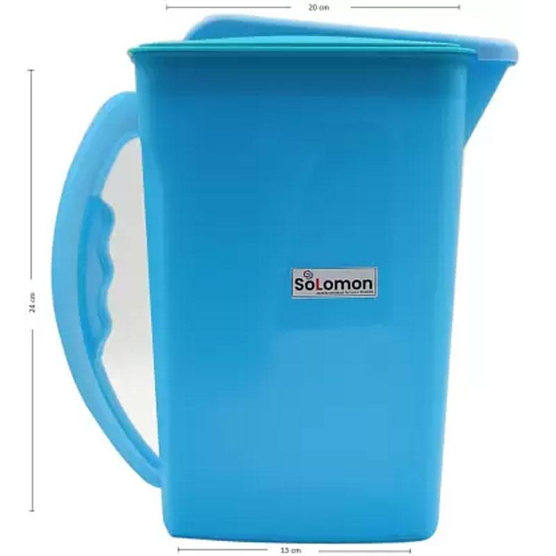 SOLOMON PREMIUM EASY COOL JUG 2200ML BLUE