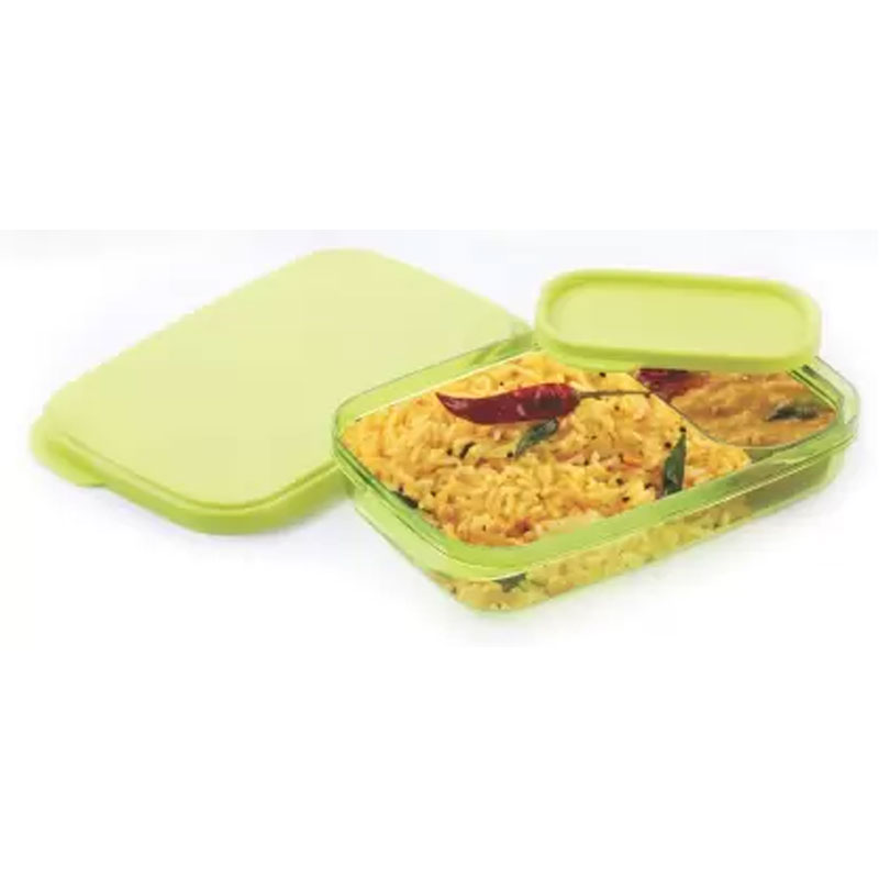 SOLOMON PREMIUM QUALITY DIVINE LUNCH BOX GREEN