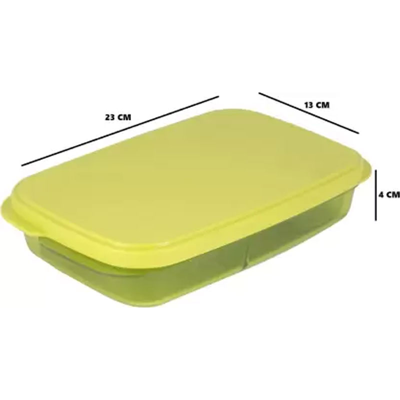 SOLOMON PREMIUM QUALITY DIVINE LUNCH BOX GREEN
