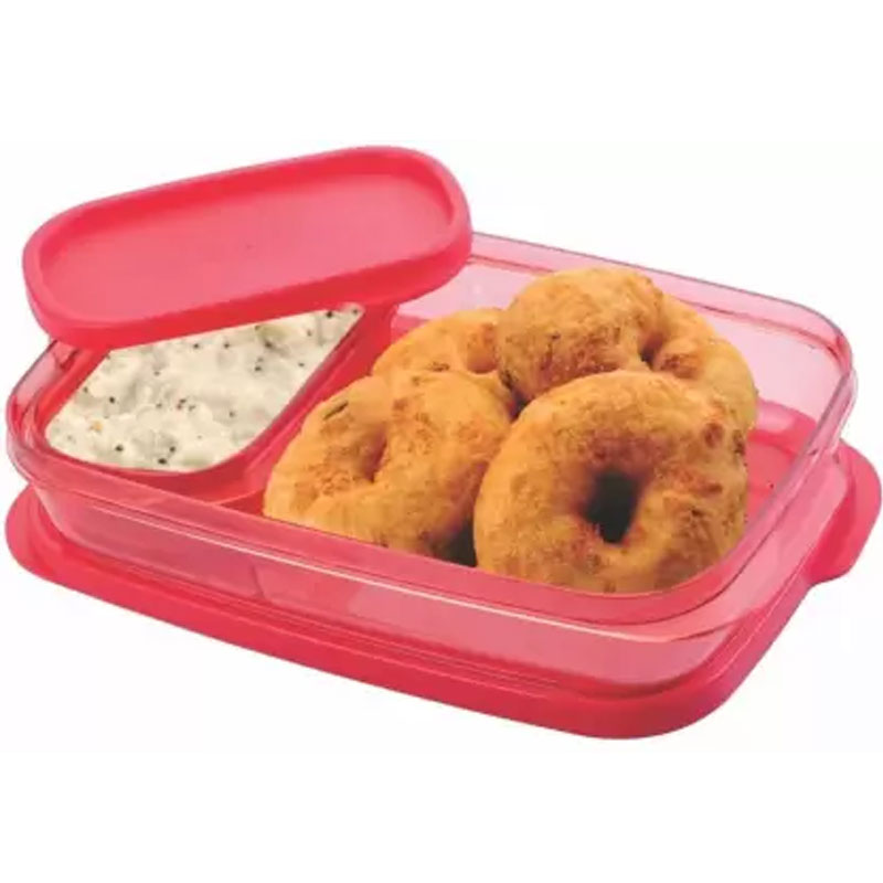 SOLOMON PREMIUM QUALITY DIVINE LUNCH BOX RED