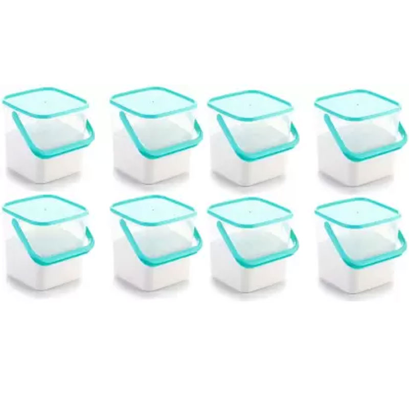 SOLOMON 5KG SQUARE CONTAINER BLUE PACK OF 8