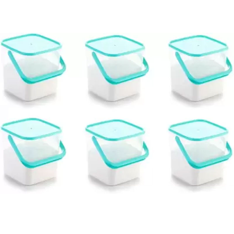 SOLOMON 5KG SQUARE CONTAINER BLUE PACK OF 6