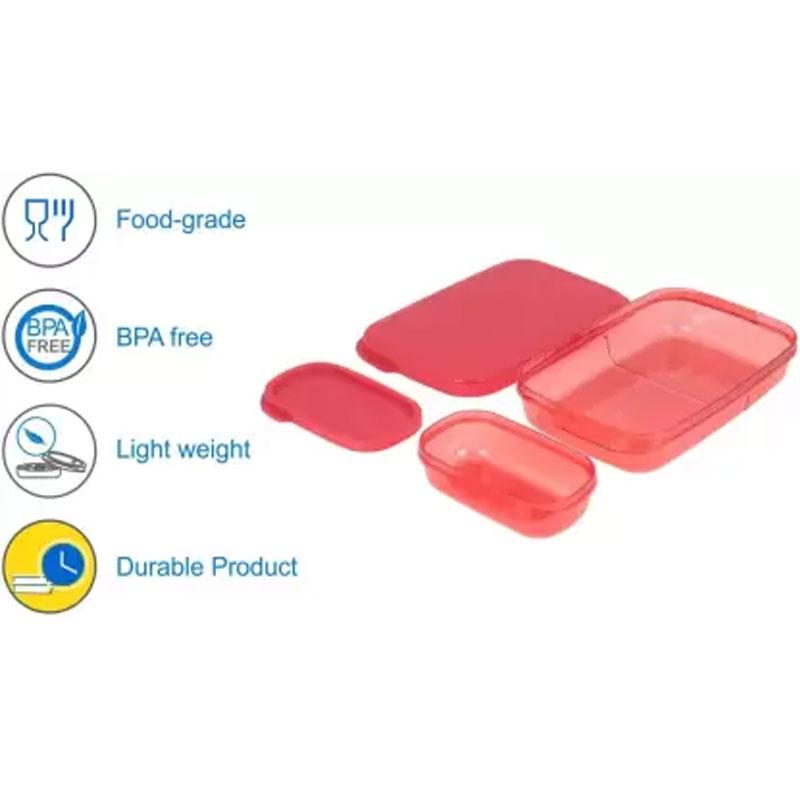 SOLOMON PREMIUM QUALITY DIVINE LUNCH BOX RED