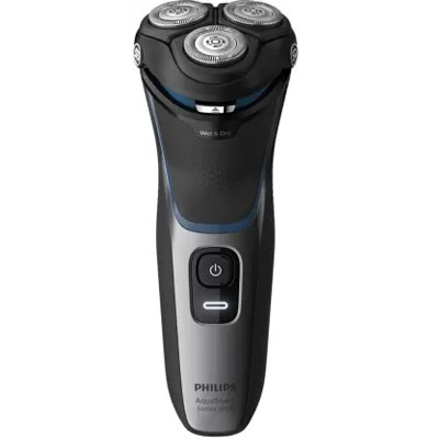 Philips S3122/55 Shaver For Men (Grey, Black)